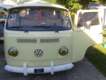 Gladys Re upholstered Bay Window Camper