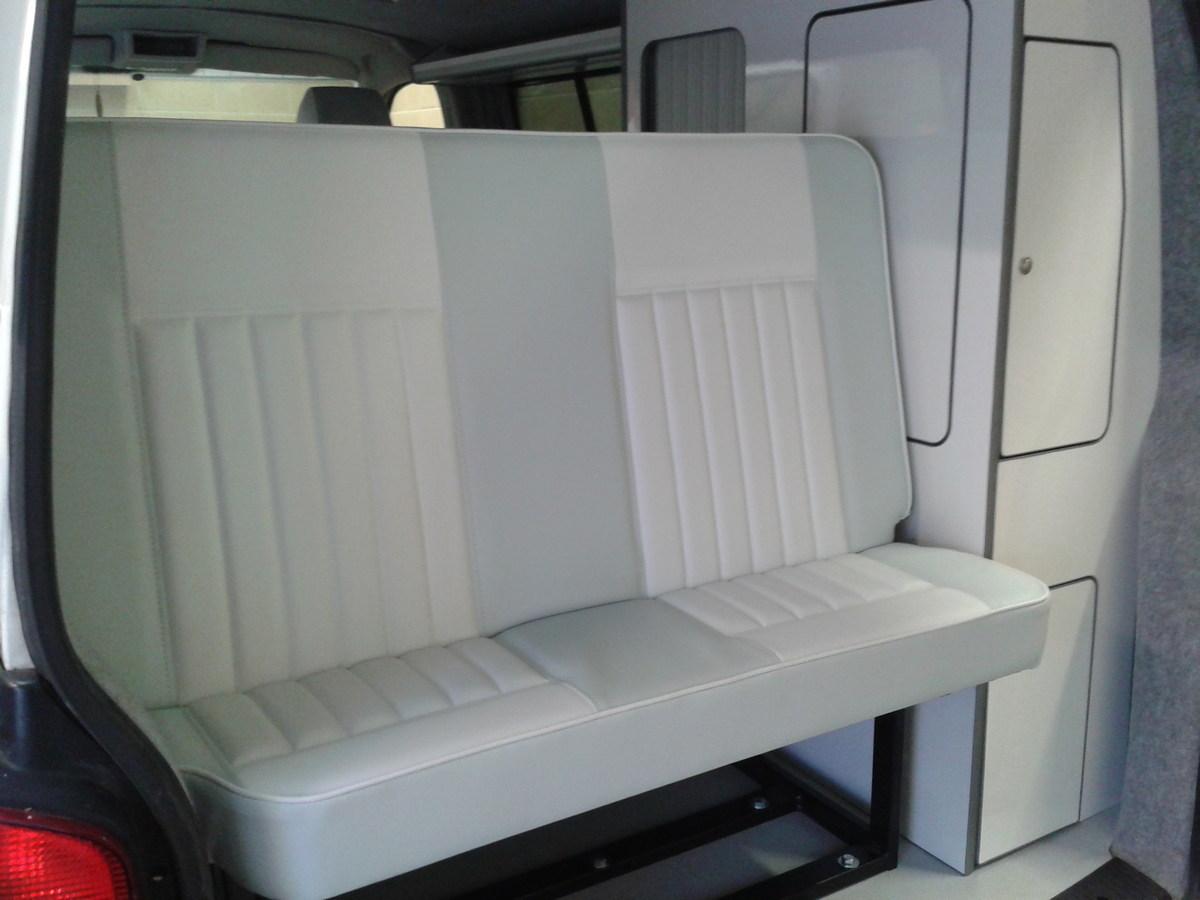 Black Bumble Bee >> VW T4 seats recovered for Camper Magic Camper Conversion | Vdub Trimshop
