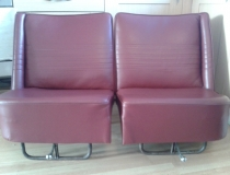 Wolsey seats re upholstered