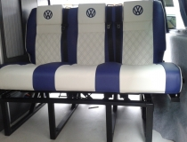 Royal Blue T5 Rib Bed and Seats