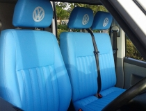 T5 Cool Blue Upholstery