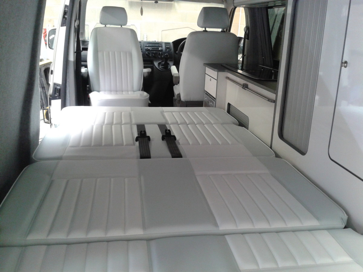 Vw T4 Seats Recovered For Camper Magic Camper Conversion