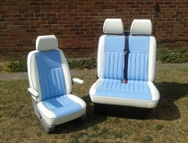 T4 Upholstered front seats and Rib