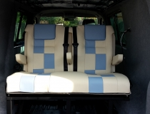 VW T5 Rear Rib and Front seats Re-upholstery