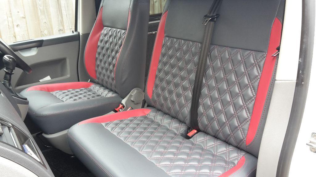 vw  van front seats upholstered vdub trimshop