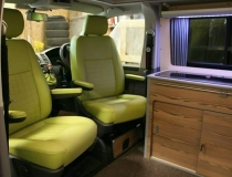 VW T5 Upholstery for Uberbus