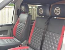 Volkswagen T5 Seats Upholstered